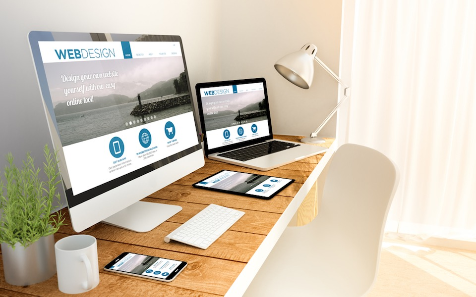 Responsive Design Webseite